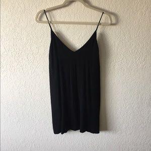 Wilfred Black Slip Dress